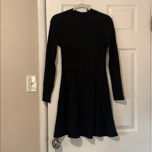 ASOS Black Skater Dress